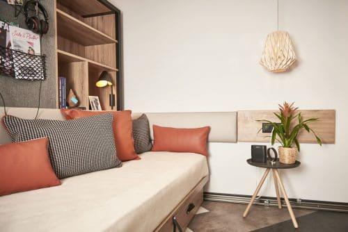 Living Space in your Kooook Bern Studio