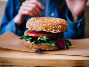 Healthy bagel at Stay KooooK